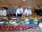Lunch with Sheikh Jassem