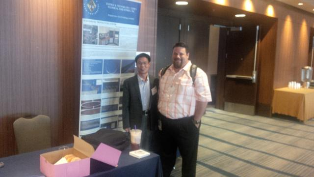 API San Francisco Conference 06-23-2015. Dr. Frank Wang presenting Technical Industries and simulating Burst & Collapse Equation
