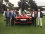 George M. Sfeir. Kaliste Saloom. At W Motors Lyken Testing Ferrari ATS Classing Bugatti Concur D'Elegence Quail Monterey Califor