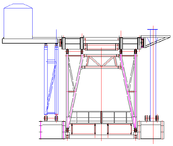 Substructure side view